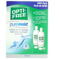 Alcon - Optifree pure moist Twinpack (2x300ml) - All-In-One - Weiche Kontaktlinsen