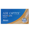 Alcon  - Air Optix Night & Day Aqua 3er Pack - Monatslinsen
